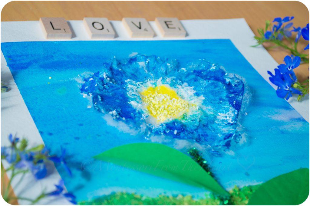 3D-Textured-Flower-Craft