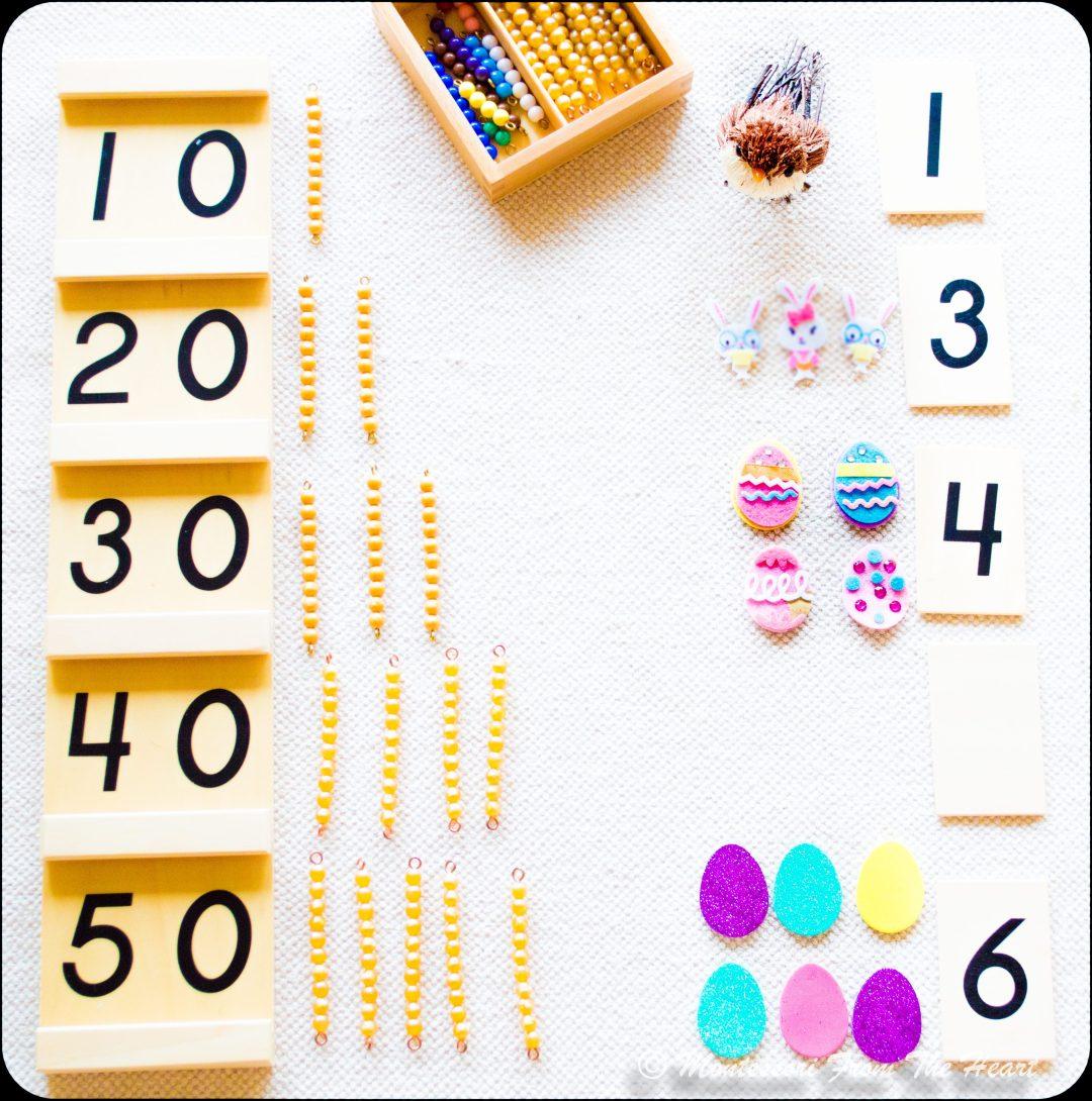 Spring-Inspired-Montessori-Tens-Board
