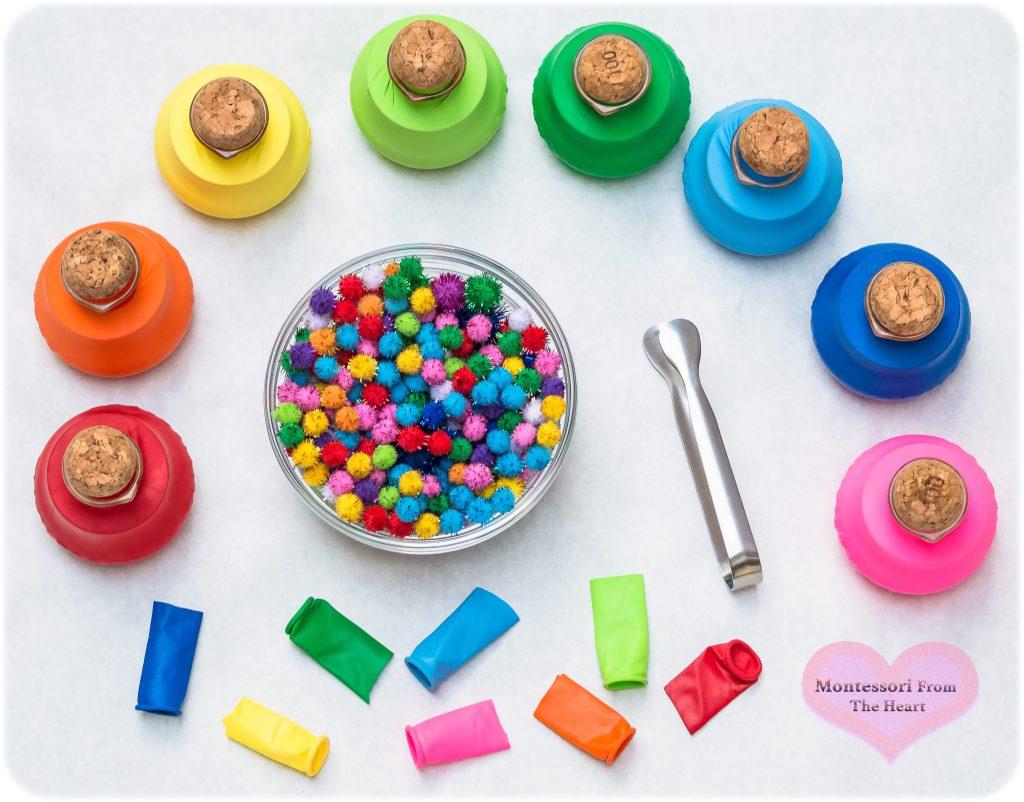 Balloon-Color-Sorting-Jar-Recycling-Play-Hack