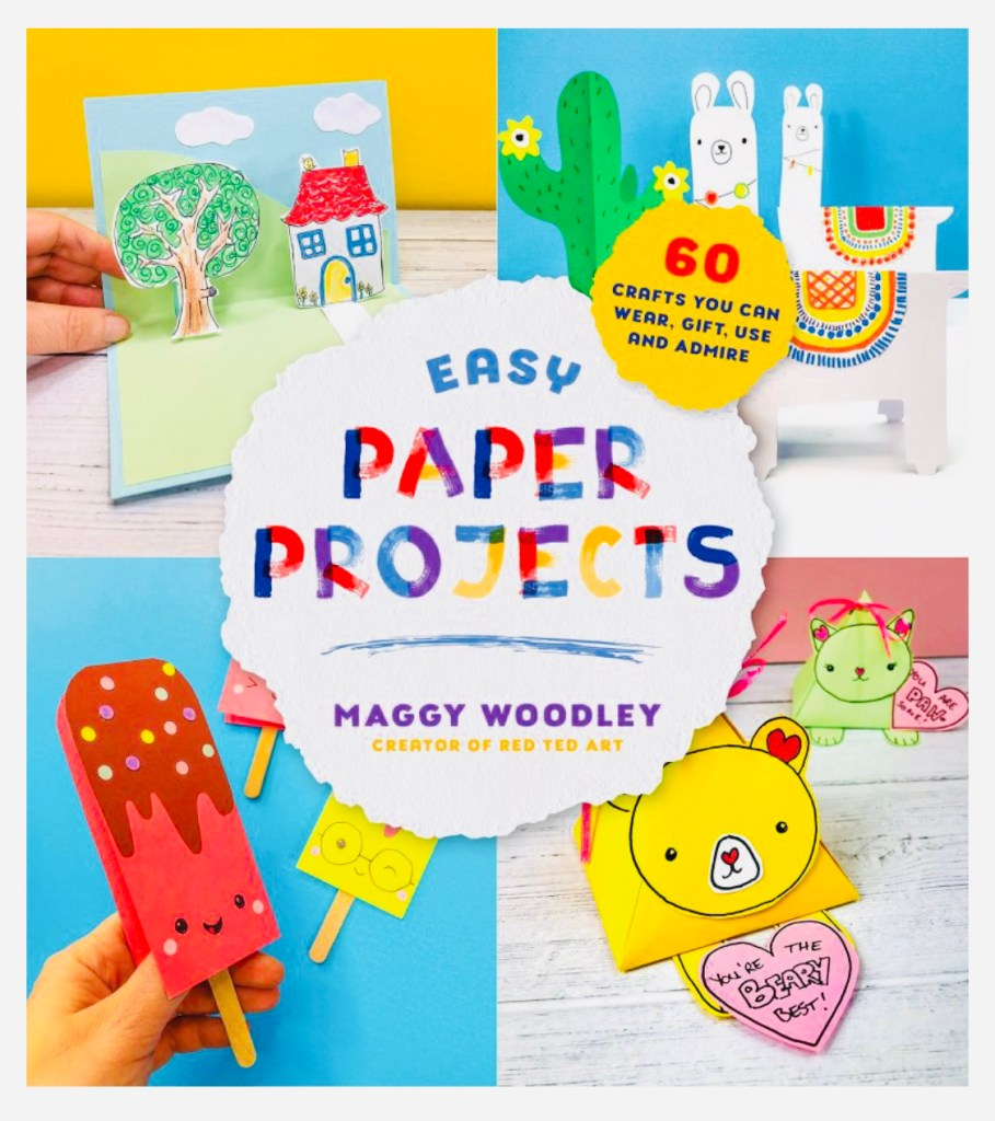 Paper Crafts for Kids Book