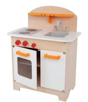 Gourmet Kid's Wooden Play Kitchen