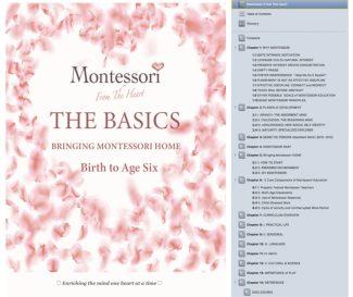 THE BASICS | Montessori Method Book for Parents | Bringing Montessori Home | Birth to Age Six