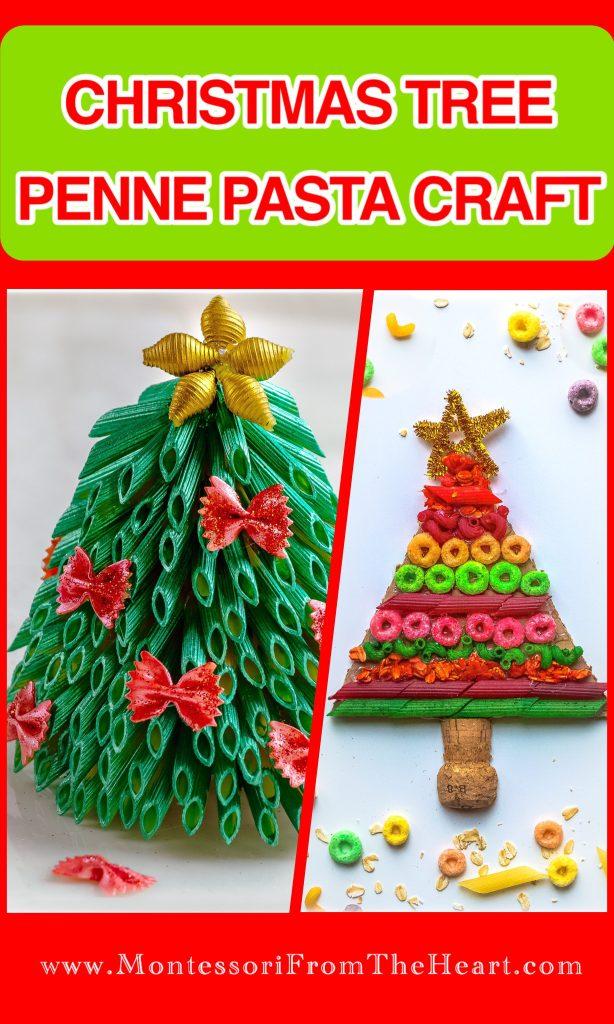 Christmas-Tree-Pasta-Craft
