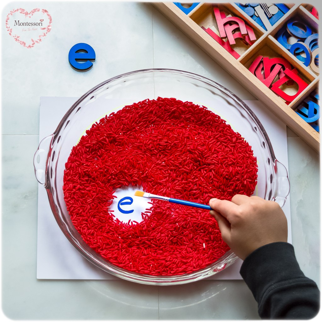 DYED Red-Rice-Letter-Seek-And-Find