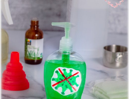 DIY HOME-MADE HAND SANITIZER