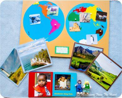 Montessori Geography Lesson 2