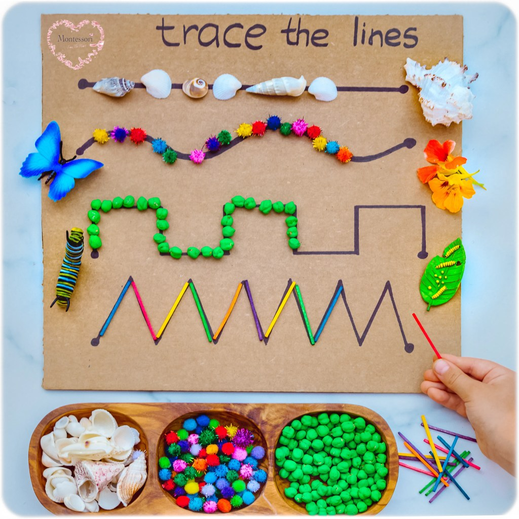 TRACE-The-LINE-DIY PRE-WRITTING-STROKES