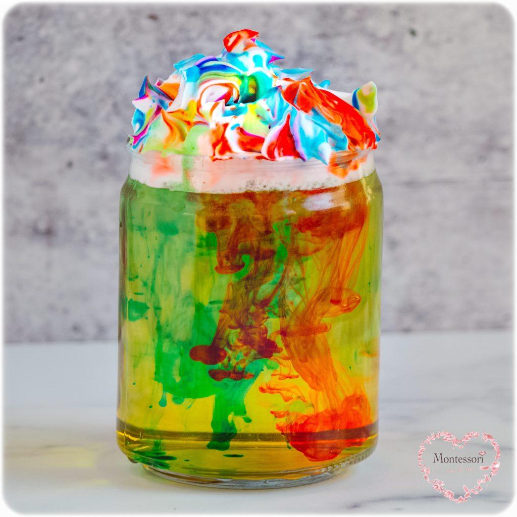 Rainbow-RAIN-in-a-JAR-STEM-Kids-Activity