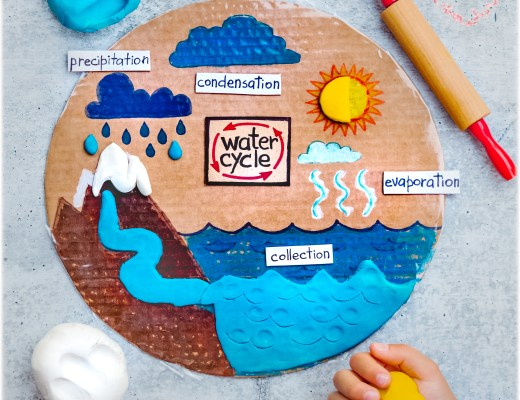 Water-Cycle-Pizza-Circle-DIY