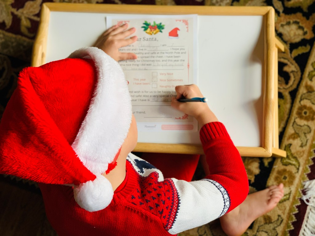 LETTER TO SANTA | WRITING TO SANTA | CHRISTMAS