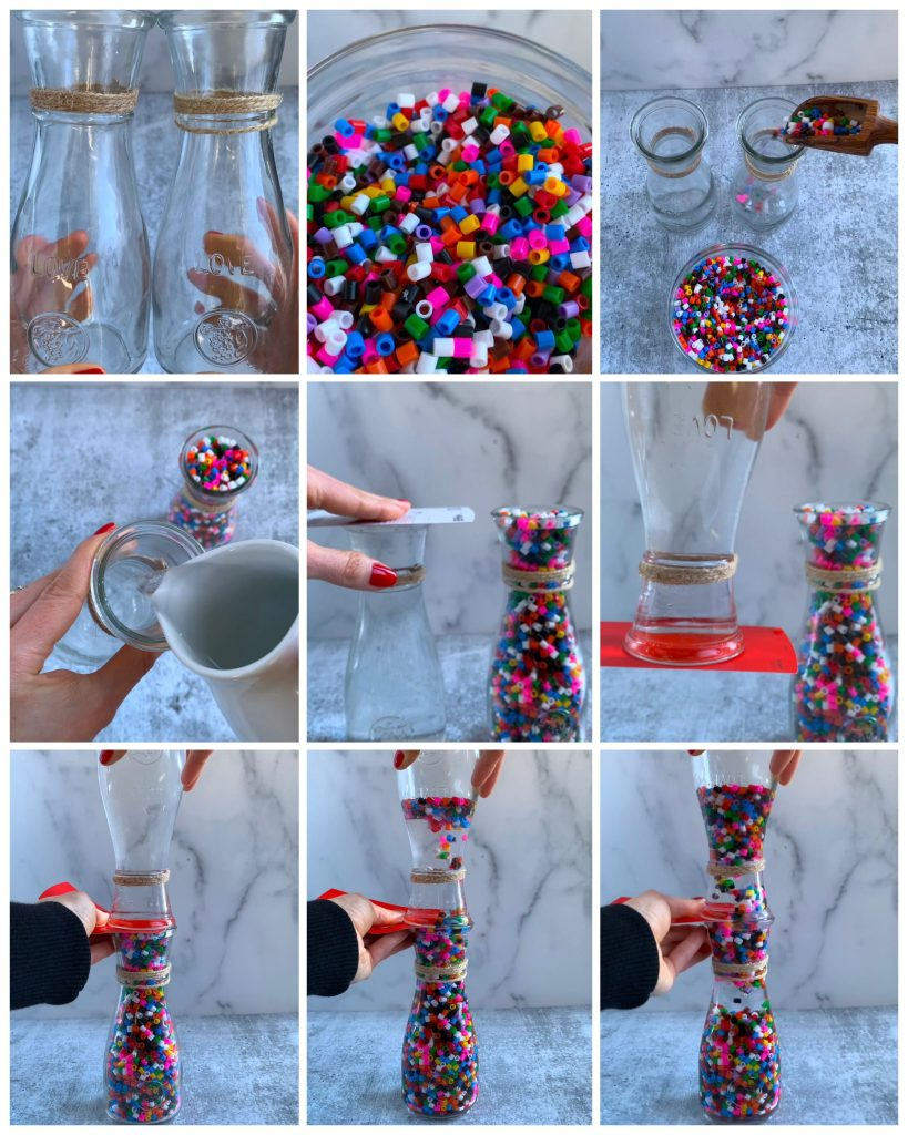 RISING BEADS KIDS SCIENCE STEPS HOW TO
