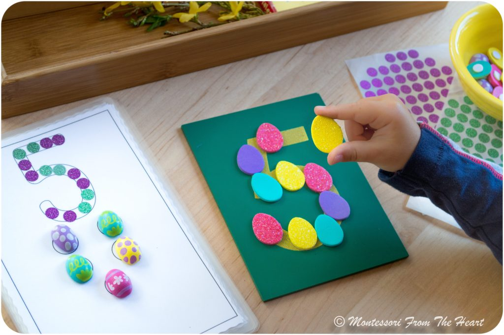 Spring Hands-On Counting Activities