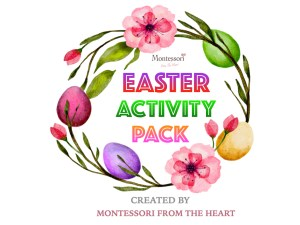 Easter Montessori Activity Pack