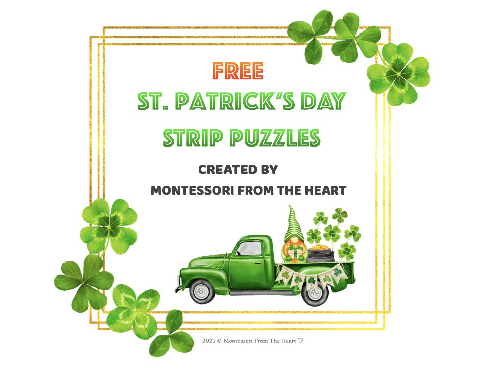 -St. Patrick's Day STRIP PUZZLES FOR KIDS.001