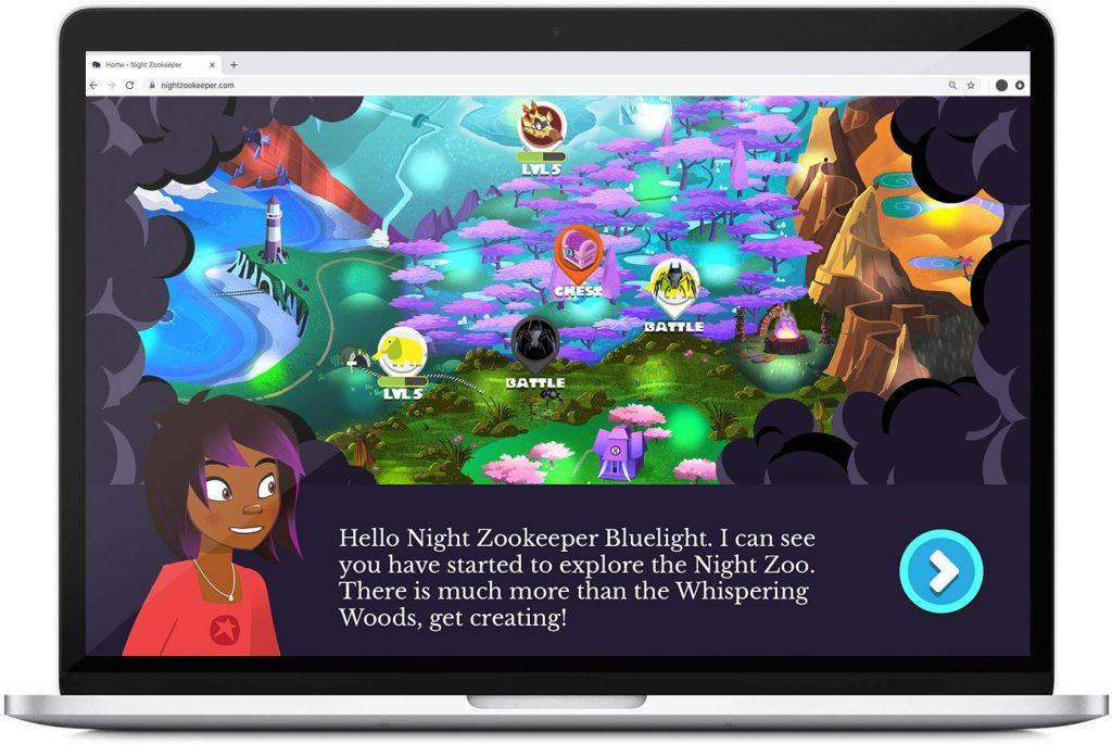 *Creative Writing Online Night Zookeeper Platform