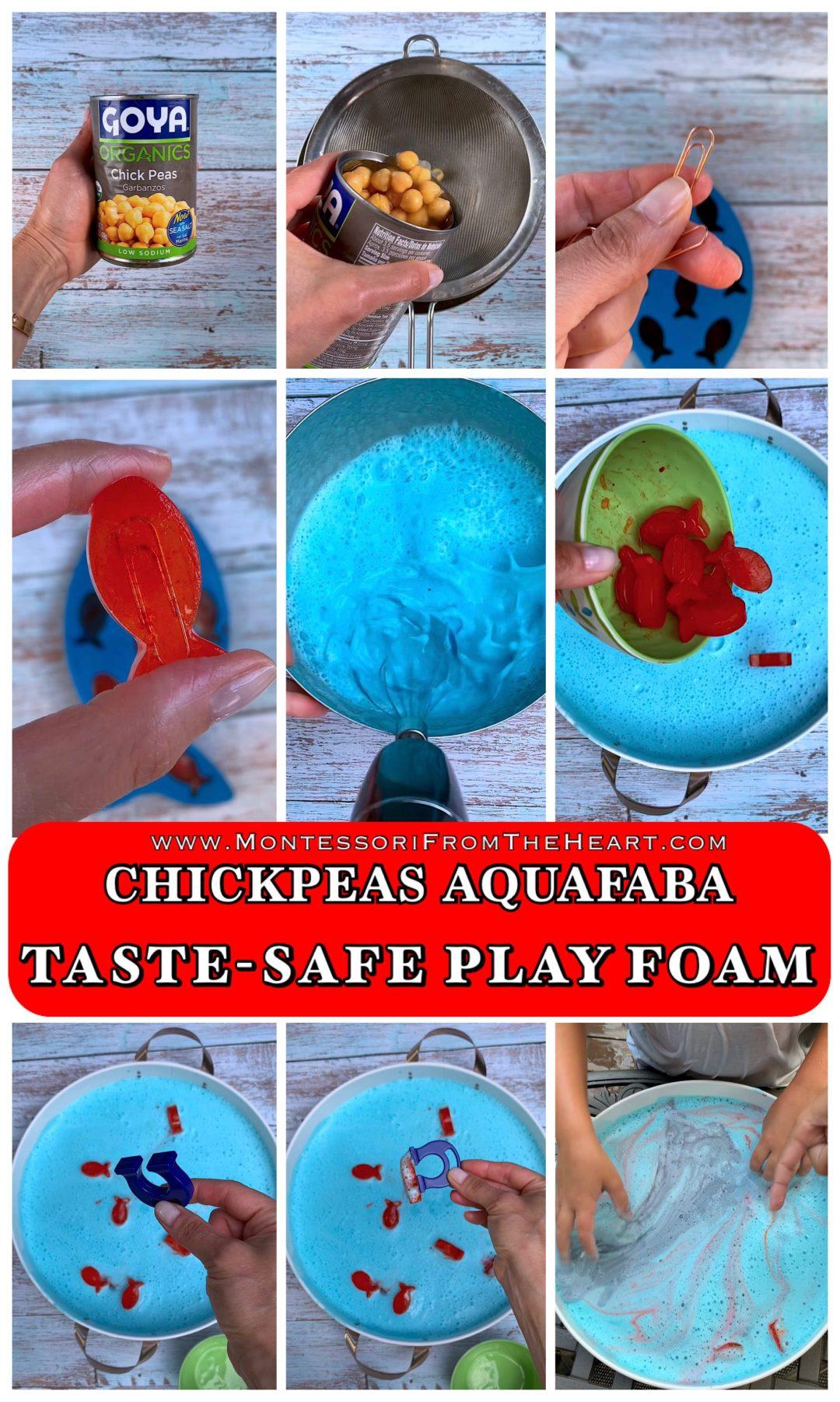 Edible Sensory Aquafaba Foam PIN