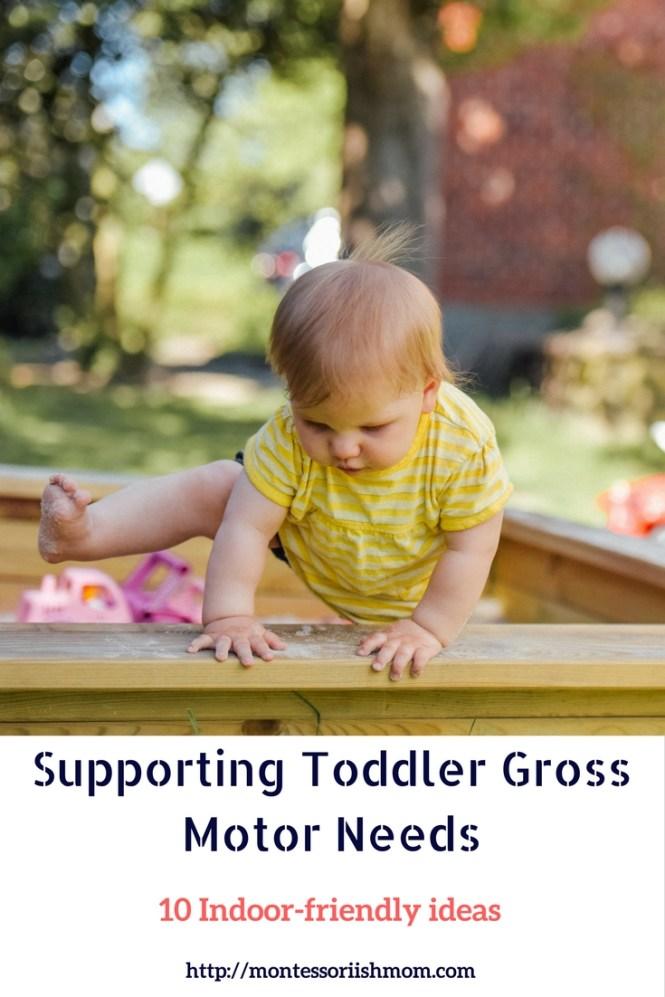 Ten Indoor Gross Motor Activities For Toddlers Montessori Ish Mom