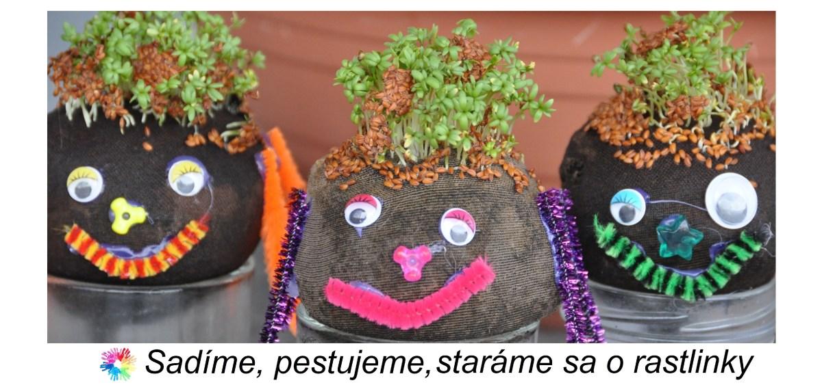 Sadime, pestujeme, starame sa