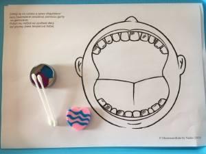 kazy, zubar, gumovanie