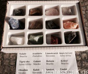 Minerály box
