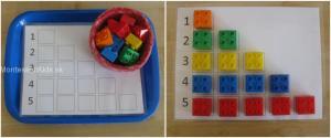 Lego triedenie a počítanie