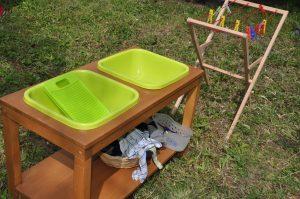 montessori pranie