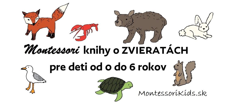 Montessori knihy o zvieratách