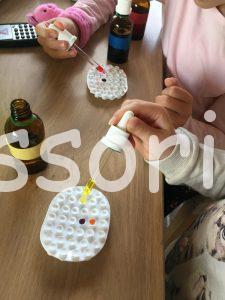 Montessori farby
