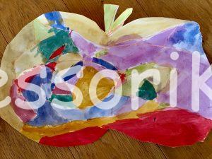 Tvorenie s deťmi jablko