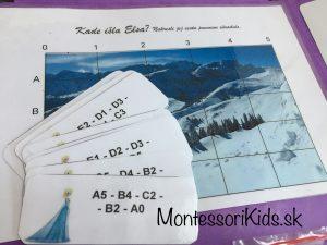 Lapbook Ľadové kráľovstvo