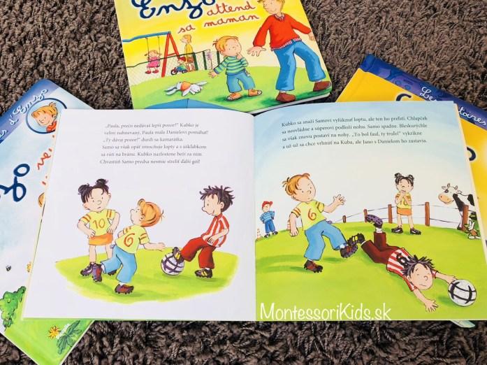Montessori knižky Kamarát Kubko