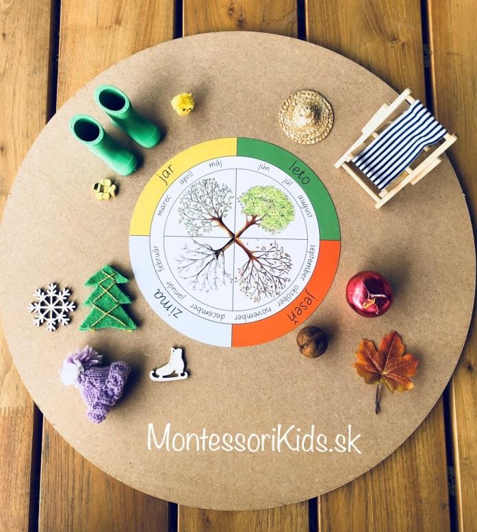 Moj album Montessori Čas