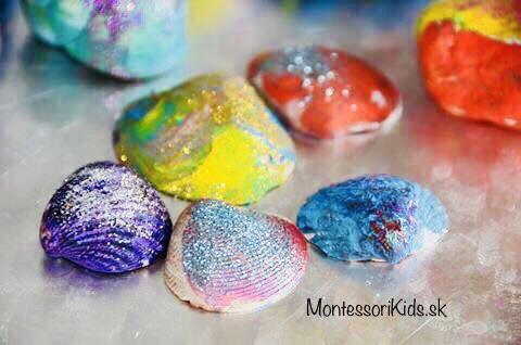 Maľované mušle