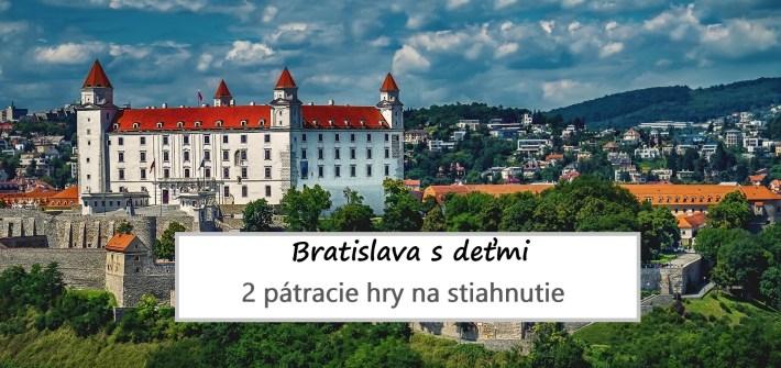 Bratislava s deťmi