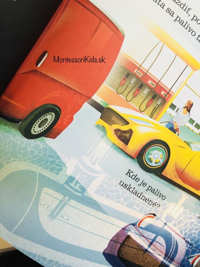 Montessori knihy o autách
