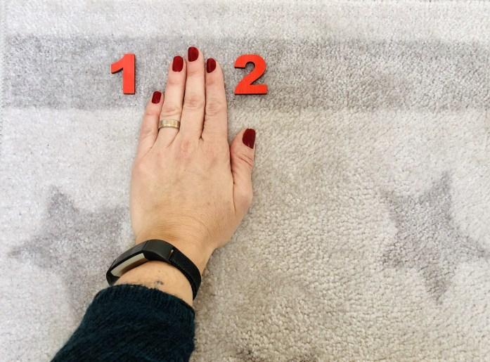 Montessori čísla a krúžky