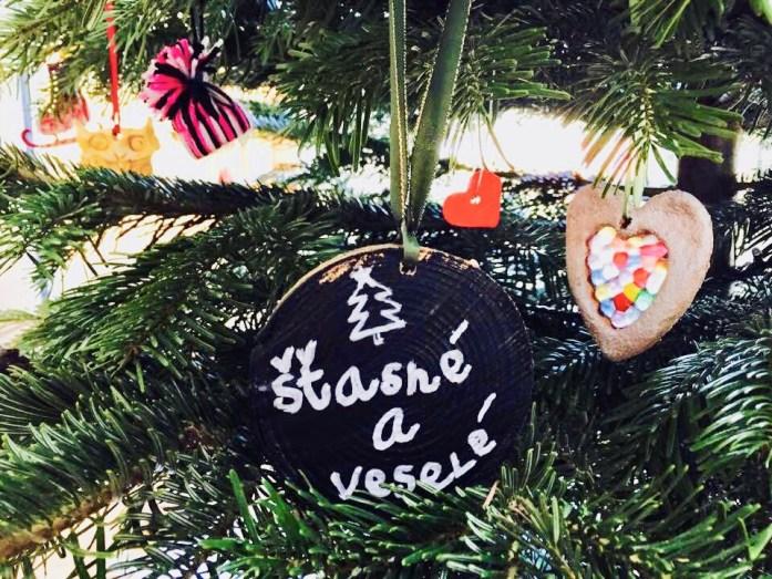 Vianočné ozdoby - pláty dreva