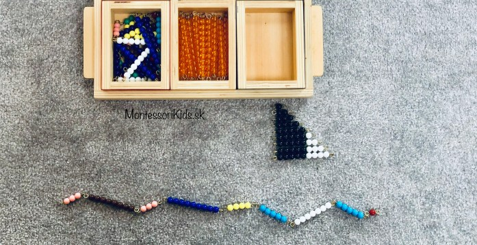 Montessori počítanie