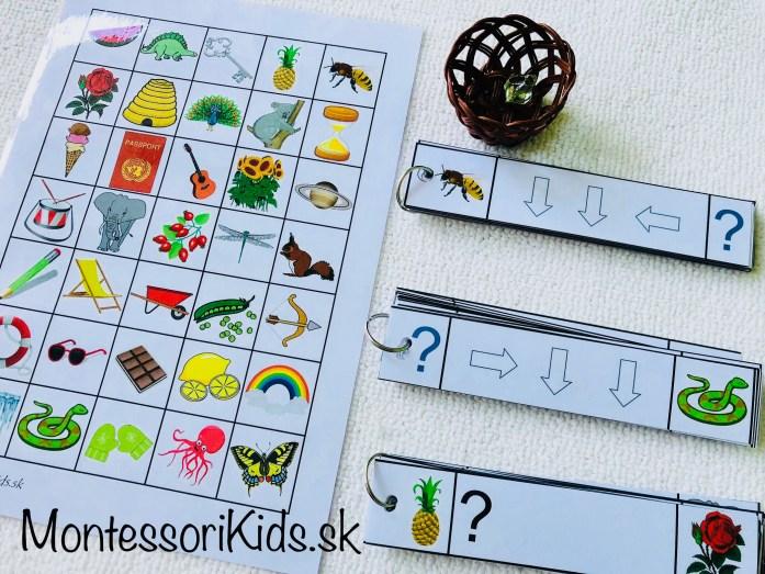 Orientácia pre predškolákov, hra