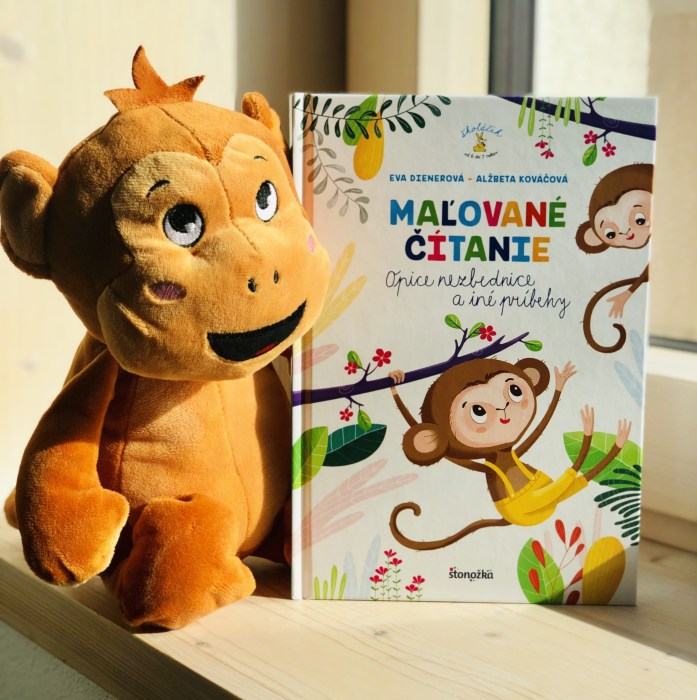 Maľované čítanie Opice nezbednice