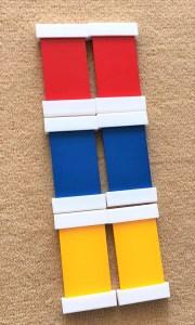 Montessori farebné doštičky I