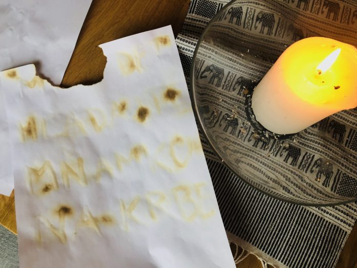 Pokusy v kuchyni - neviditeľný atrament