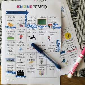 knižné bingo