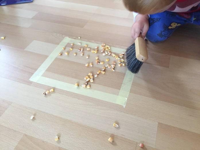 Montessori zametanie