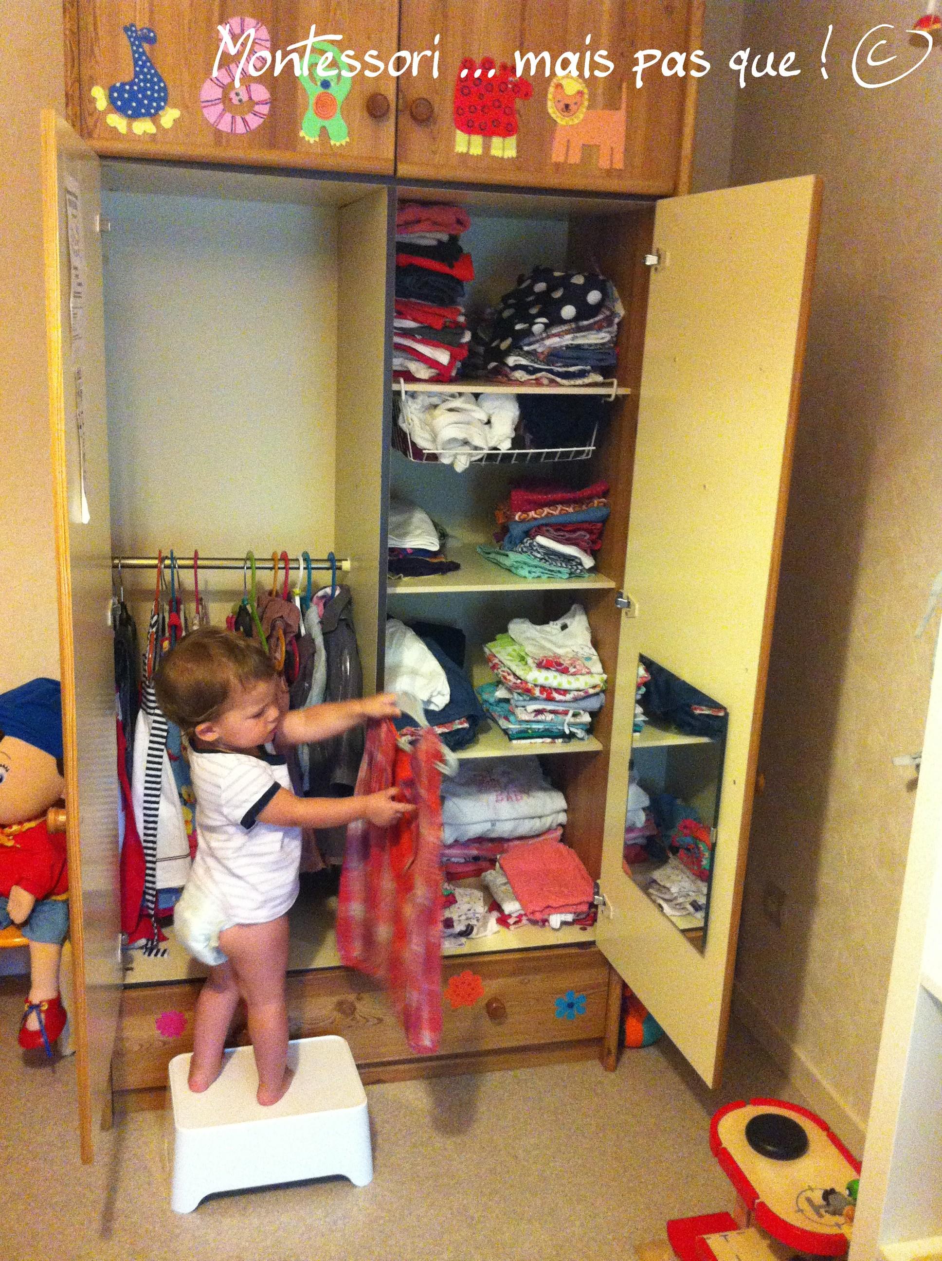 armoire montessori montessori mais pas que. Black Bedroom Furniture Sets. Home Design Ideas