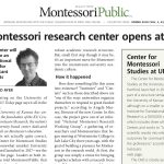 Montessori Research Center Opens at KU