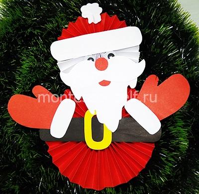 Santa Claus z papíru Harmonica