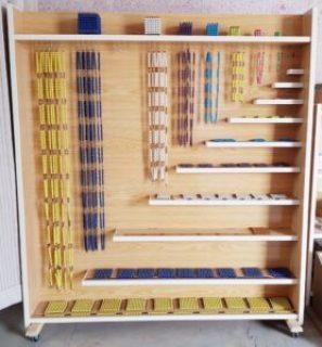 Montessori Mathematics Linear Bead Cabinet