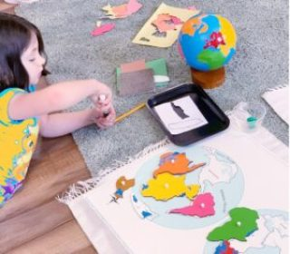 Montessori Geography Activity