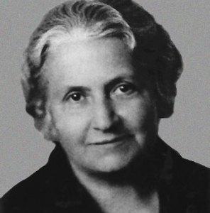 Foto på Maria Montessori
